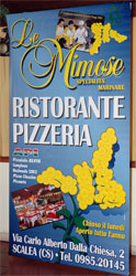 Pizzeria le mimose Scalea